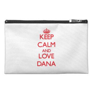 Keep Calm and Love Dana Travel Accessories Bags