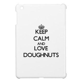 Keep calm and love Doughnuts Case For The iPad Mini