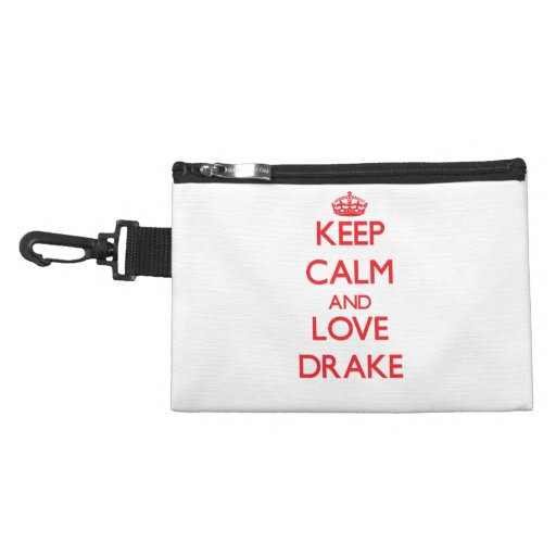 Keep Calm and Love Drake Accessories Bag