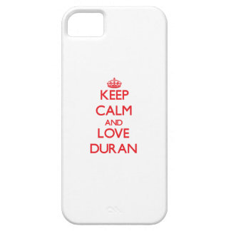 Keep calm and love Duran iPhone 5 Cases