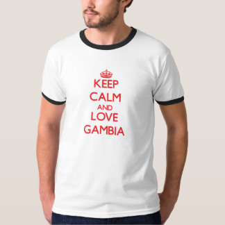 Keep Calm and Love Gambia T-Shirt