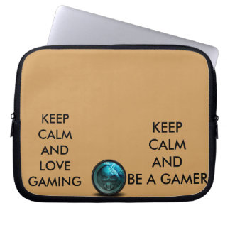 keep calm and love gamer of legends laptop sleve laptop sleeve