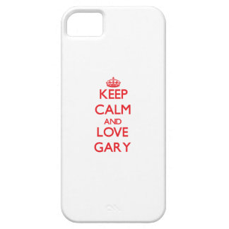 Keep Calm and Love Gary iPhone 5/5S Case