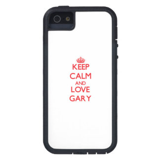 Keep Calm and Love Gary iPhone 5 Covers