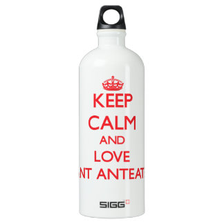 Keep calm and love Giant Anteaters SIGG Traveler 1.0L Water Bottle