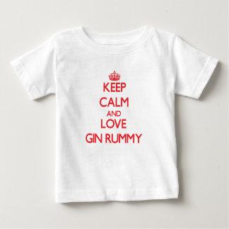 Keep calm and love Gin Rummy Shirts