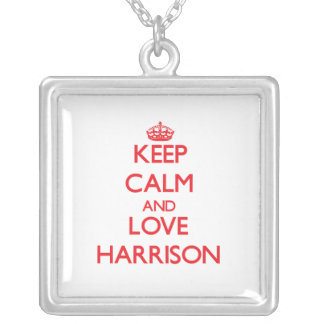 Keep calm and love Harrison Necklace