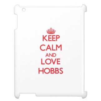Keep calm and love Hobbs Case For The iPad 2 3 4
