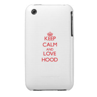 Keep calm and love Hood iPhone 3 Covers
