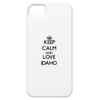 Keep Calm and Love Idaho iPhone 5 Covers