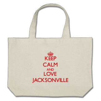 Keep Calm and Love Jacksonville Bag