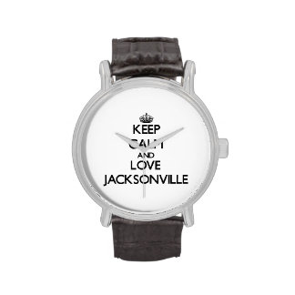 Keep Calm and love Jacksonville Watches
