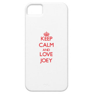 Keep Calm and Love Joey iPhone 5 Covers