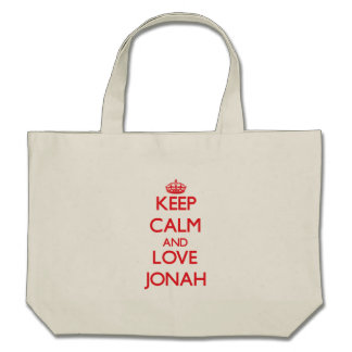 Keep Calm and Love Jonah Bag