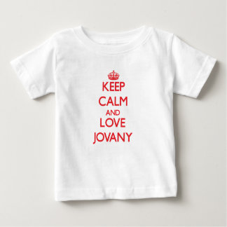 Keep Calm and Love Jovany T Shirts