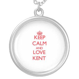 Keep calm and love Kent Pendants