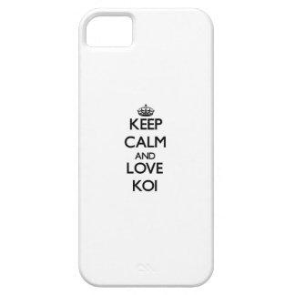Keep calm and Love Koi iPhone 5 Cover