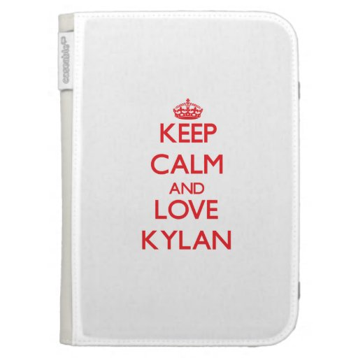 Keep Calm and Love Kylan Case For The Kindle