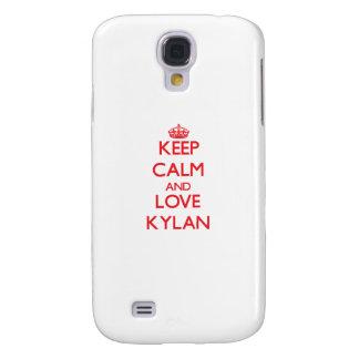 Keep Calm and Love Kylan HTC Vivid Cover