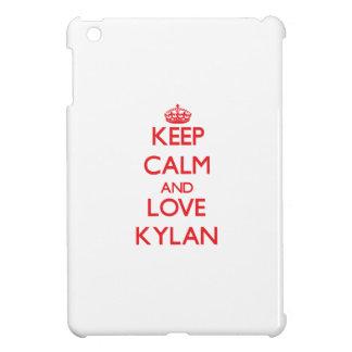 Keep Calm and Love Kylan iPad Mini Cover