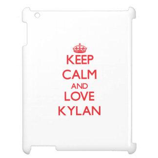 Keep Calm and Love Kylan iPad Case