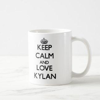 Keep Calm and Love Kylan Mugs