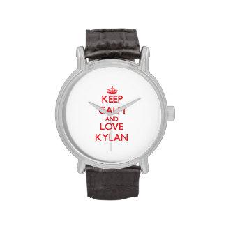 Keep Calm and Love Kylan Wrist Watch