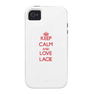 Keep Calm and Love Lacie iPhone 4/4S Cover