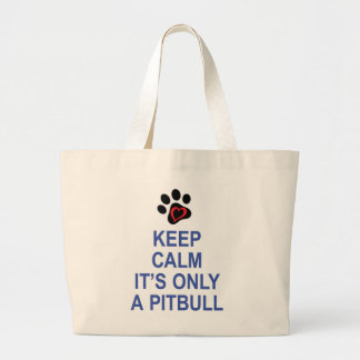 Keep Calm... and LOVE Large Tote Bag