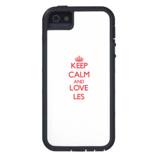 Keep Calm and Love Les iPhone 5 Case