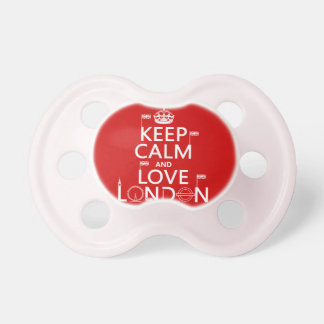 Keep Calm and Love London Dummy