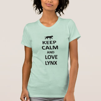 Keep calm and love Lynx T-Shirt