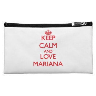 Keep Calm and Love Mariana Cosmetic Bag