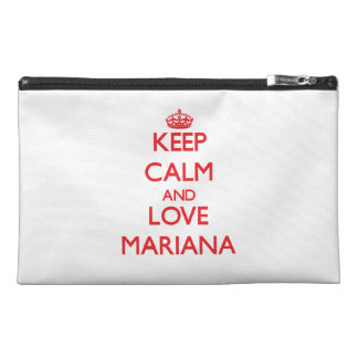 Keep Calm and Love Mariana Travel Accessories Bags