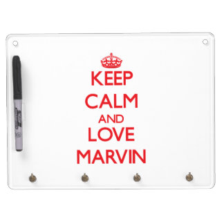 Keep Calm and Love Marvin Dry Erase Whiteboards