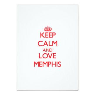 Keep Calm and Love Memphis Invites