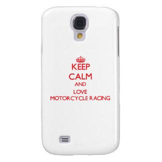 Keep calm and love Motorcycle Racing HTC Vivid / Raider 4G Case
