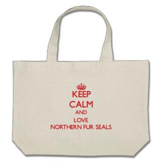 Keep calm and love Northern Fur Seals Bag