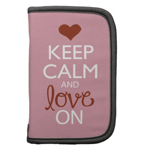 Keep Calm and Love On Planners
