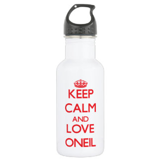 Keep calm and love Oneil 532 Ml Water Bottle