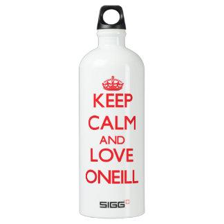 Keep calm and love Oneill SIGG Traveller 1.0L Water Bottle