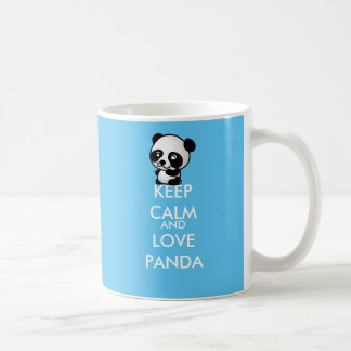Keep Calm And Love Panda Coffee Mug
