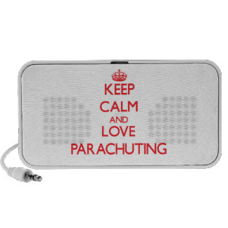 Keep calm and love Parachuting Mini Speaker