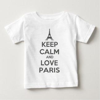 Keep Calm and Love Paris Tshirts