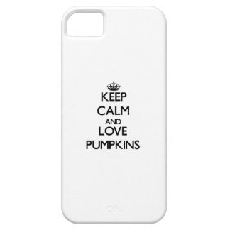 Keep calm and love Pumpkins iPhone 5 Covers