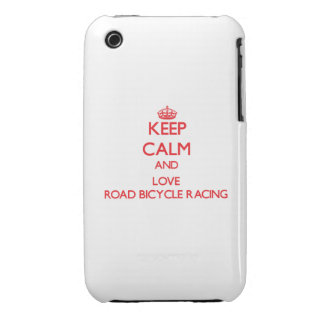 Keep calm and love Road Bicycle Racing iPhone 3 Case-Mate Case