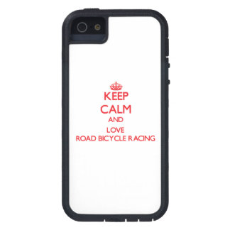 Keep calm and love Road Bicycle Racing iPhone 5 Cover