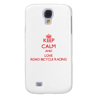Keep calm and love Road Bicycle Racing HTC Vivid Cases