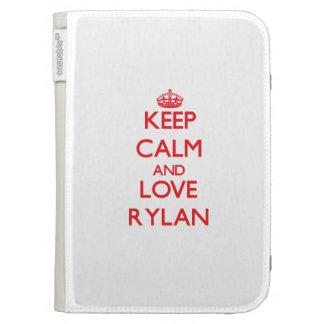 Keep Calm and Love Rylan Kindle 3 Covers