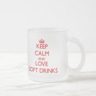 Keep calm and love Soft Drinks Coffee Mugs